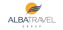 Alba travel logo