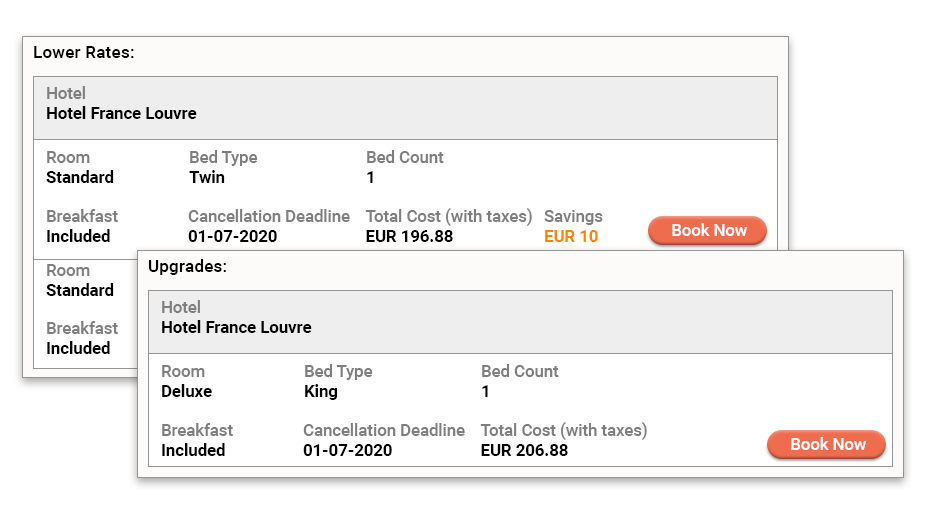 Price drops and savings alerts sent through browser and email notifications